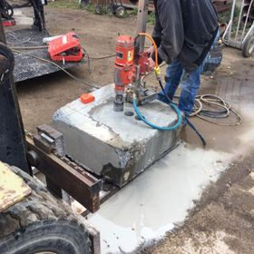 Cement drilling