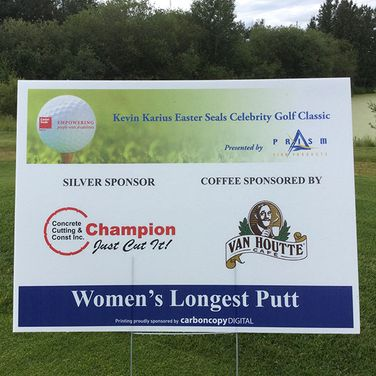 Easter Seals Celebrity Golf Classic, silver sponsor