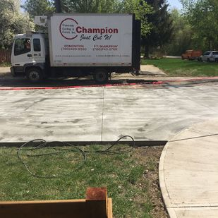 Replacing concrete